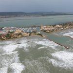 Frontigan-Plage Filmé par un Drone pendant la Tempête - 23 octobre 2019