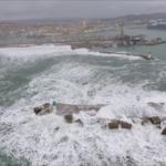 Sète & Frontignan en Drone pendant la Tempête - 20 décembre 2019
